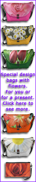 Special design bags with flowers. For you or for a present. Visit this link to see more.