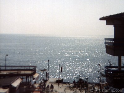 View of Guzelce coast in Istanbul city of Turkey. (The picture was taken by Artislamic.com in 1994.)