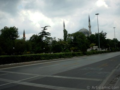 Sehzade Mosque made by Architect Sinan in Fatih district in Istanbul city of Turkey.
