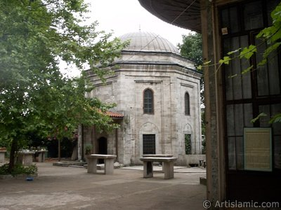 The Tomb of Sultan Beyazid II in Beyazit district in Istanbul city of Turkey. (The picture was taken by Artislamic.com in 2004.)