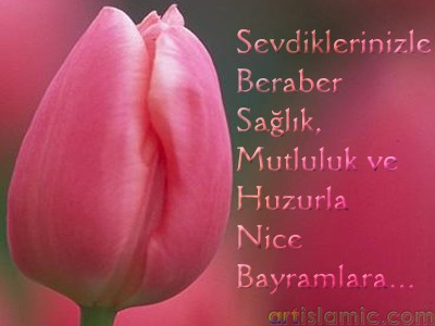 islamisanat.net tarafından bayram münasebetiyle tasarlanmış bir e-kart resmi.