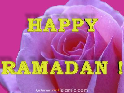 An e-card image designed by Artislamic.com on the occasion of the Ramadan.